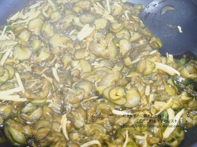 きゅうりの佃煮9