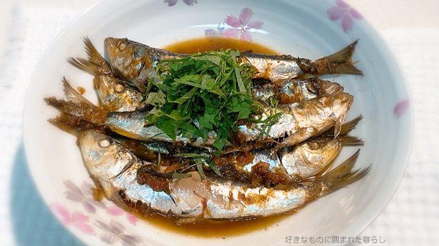 栗原はるみ 青魚の梅昆布煮25
