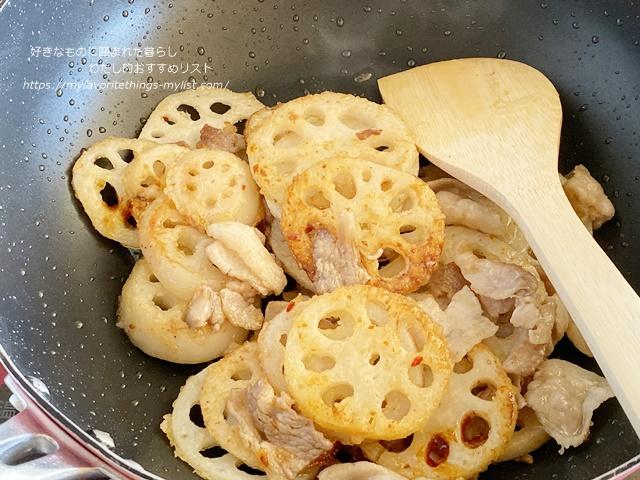 あさイチ れんこんと豚肉の四川風炒め煮16