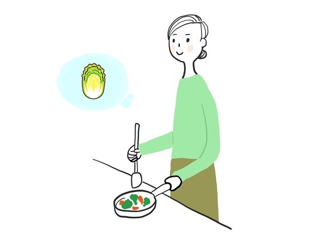 白菜を保存する方法