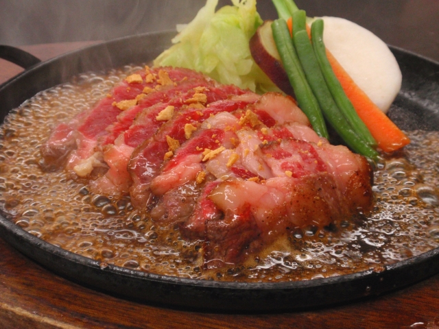 アメリカンビーフのサーロインステーキ