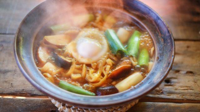 焼き味噌鍋