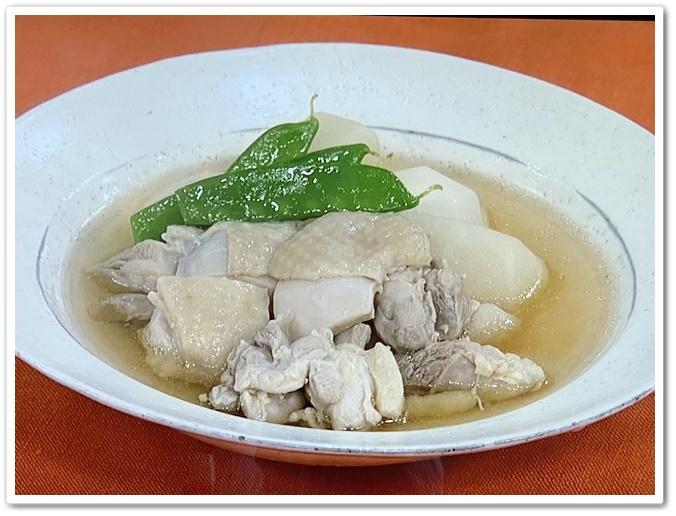 鶏ももとかぶのスープ煮1