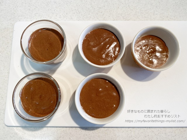 チョコレートムース19