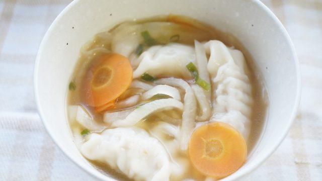 リメイクスープ餃子